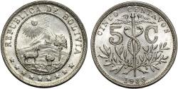 World Coins - Bolivia. Republic. Ni 5 Centavos 1935. UNC