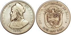 World Coins - Panama. Republic. AR 50 Centesimos 1905. Fine+