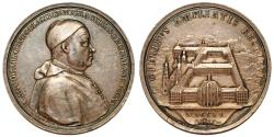 World Coins - Germany. St. Blasien Franz II. (Saint Blaise Abbey, Black Forest) VERY RARE Silver Medal 1740. Choice XF. toned