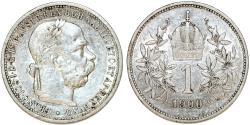 World Coins - Austria. Franz I Josef (1848-1916). Silver Corona 1900. VF+.