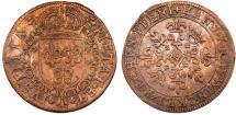 World Coins - Germany. Nuremberg. Copper Token by Hans Krawimnkel (1583-1685). Choice VF