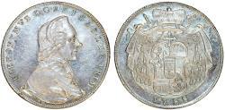 World Coins - H.R.E. Salzburg. Count Hieronymus (1772-1803). Silver Thaler 1788. UNC, PL Strike.