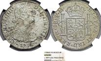 World Coins - SHIPWRECK RARITY. C. 1807 CUBAN WATERS WRECK SEA SALVAGED 8 REALES 1798 MEXICO MINT NGC CERTIFED!