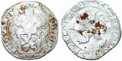 World Coins - Netherlands. Campen. AR Lion Daalder (48 Stuivers) 1664. Bold Fine+.