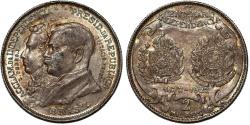World Coins - Brazil. AR Commemorative 2 Milion Reis 1922. Toned AU