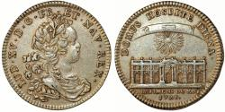 "World Coins - France. King Luis XV The Well-Beloved. (1715–1774). AR Jeton ""New Senate Creation"" 1721. XF"