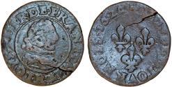 World Coins - France. Bouvillon et Sedan. Frederick Maurice (1623-1652). AE Tournois 1626. Fine
