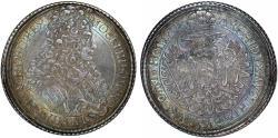 World Coins - H.R.E. Austria. Vienna. Emperor Joseph I (1705-1711). AR Taler 1708. NGC AU53, toned