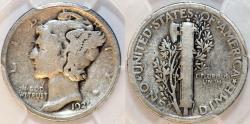 Us Coins - USA. Mercury Dime 1921 D. PCGS G06.