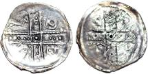"World Coins - Medieval Poland. Duchy of Oppeln-Ratibor. Boleslav V ""The Tall"" (1177-1195). Silver Denar ND, Fine+"