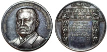 "World Coins - Germany: Nice AR Medal 1925 "" On the election of Paul von Hindenburg as the second president of Germany"" Choice AU"