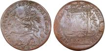 World Coins - France. Louis XIII, King of France (1620-30). Copper Jeton ND. VF