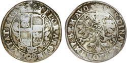 World Coins - GERMANY. Emden. Ferdinand II (1624-1637). Foureé 28 Stüber (Gulden). About VF, toned