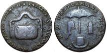 World Coins - Great Britain. Norwich. Copper halfpenny token 1792. Fine+