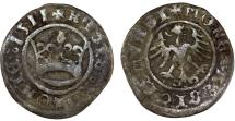 World Coins - Silesia. City of Swidnica. Ludwig I. AR Half Gross 1523 (1553). Fine+