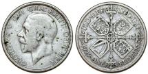World Coins - Great Britain. King Edward VII (1902-1910). AR Florin 1929. AVF