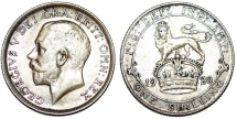 World Coins - Great Britain. George V. AR Shilling 1920. XF