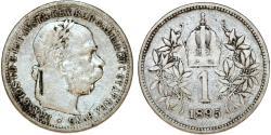 World Coins - Austria. Franz I Josef (1848-1916). Silver Corona 1895. VF.