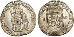 World Coins - Netherlands. United Provinces. Utrecht. AR 1 Gulden 1733. Choice VF