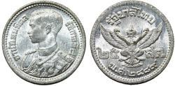 World Coins - Thailand. 25 Srang 1946. Choice UNC