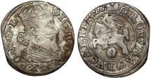 World Coins - Poland. Lithuania. G-Duke Sigismund III (1587-1632). AR Gross 1626. About VF
