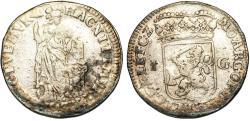 World Coins - Netherlands. United Provinces. Gelderland. AR 1 Gulden 1713. About VF