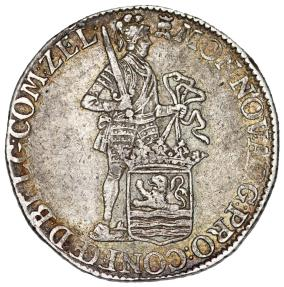 World Coins - Netherlands. Zeeland. AR Ducat 1776. Choice VF