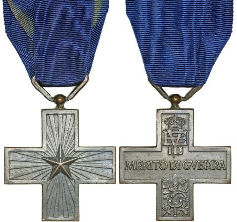 "World Coins - Kingdom of Italy. Vittorio Emanuellle III. Bronze Order ""Merito di Querra"". Nice XF+."
