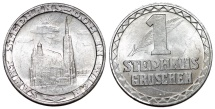 World Coins - Austria. Vienna. Church St. Stefan Al. Trade Token issue. WWI Period. AU+
