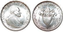 Vatican City. Joaness Paulus II. Silver 1000 Lire 1982. Scarce BU