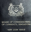"""World Coins - Singapore. Republic. Mint set of 6 coins 1968 """"New Coin Issue"""". Choice BU"""