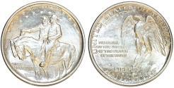 Us Coins - USA. Silver Commemorative 50 Cents: STONE MOUNTAIN 1925. Choice AU