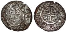 England.  Henri II (1154-1189), AR Penny ND 1180-1189, Winchester. Short cross. Type, FINE