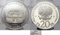 "World Coins - Poland. Nickel Pattern ""PROBA"" 20 zl 1981 MW. ""Barbakan"". NGC PF69UC!"