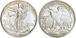 Us Coins - USA. Walking Liberty Half Dollars 1934-D. AU
