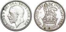 World Coins - Great Britain. George V. AR Shilling 1936. Choice VF