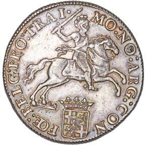 World Coins - Netherlands. Utrecht. AR Ducatone called: Silver Rider 1791. XF.