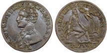 World Coins - Germany Jeton with Friedrich Wilhelm III of Prussia (1797- 1840) . VF+
