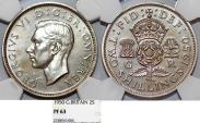 World Coins - Great Britain. King George VI (1936-1952) 2 Shilliny 1950. NGC PF63 (PROOF)