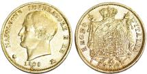 World Coins - Italy Kingdom of Napoleon. Napoleon I Bonaparte. AV 20 Lire 1808-M. XF