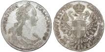 World Coins - Italian Colony. Eritrea. Vittorio Emanuele III (1900-1946). AR Tallero 1918 R. VF+