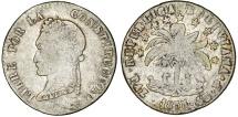 World Coins - Bolivia. Republic. AR 4 Soles 1855FJ. aVF