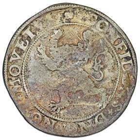World Coins - Netherlands. LOW COUNTRIES, Holland. (Dutch Revolt). (1566/8-1581). AR Thaler 1576. Bold Fine, toned