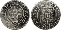 World Coins - Poland. Bromberg. Sigismund III (1587-1632). Silver Polker - 1/24 Taler 1625. VF