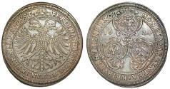 World Coins - Germany:  NUREMBERG (IMPERIAL CITY): Freie und Reichsstädte. AR Taler 1624. Toned XF