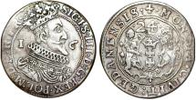 World Coins - Poland. City of Danzig. Sigismund III (1587-1632). Silver 1/4 Taler 1624/3. VF, toned