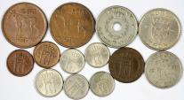 World Coins - Norway. Lot of 13 Coins 1952-1963. XF-UNC