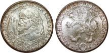 World Coins - Czechoslovakia. - People's Republic. Commemorative Silver 10 Korun 1957 . UNC