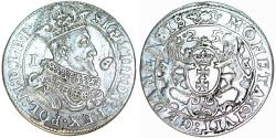 World Coins - Poland. City of Danzig. Sigismund III (1587-1632). Silver 1/4 Taler 1625. XF