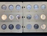 World Coins - Canada. Amazing lot of 24 (Maples) 1988-2005. All dates are BU